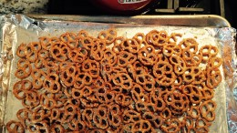 Seasoned Pretzels via Elizabeth Fechter